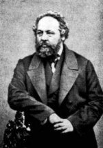 Михаил Бакунин, 1838 г., автопортрет
