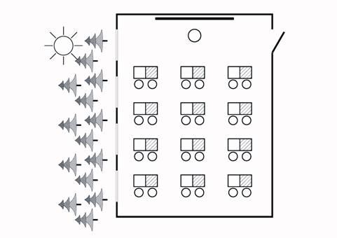 Схема расстановки парт по фгос