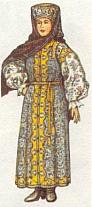 Костюм уральской казачки