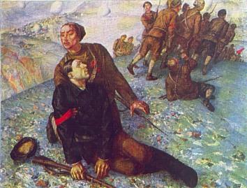 Петров-Водкин - Смерть комиссара