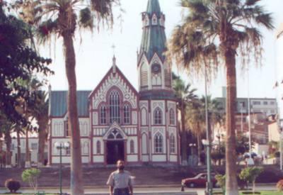 Собор, построенный по проекту Жана Эйфеля