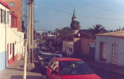Арика, характерная улица города